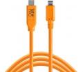 TT TetherPro USB Type C > Micro-B 5pin 4.6m naran.