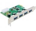 Delock PCI Express -> 4 x USB 3.0