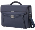 "Samsonite Desklite Briefcase 3 Gussets 15.6"" Blue"