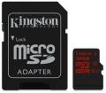 Kingston microSDHC UHS-I U3 90R/80W 32GB + adapter