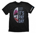 "Payday 2 T-Shirt ""Hoxton Mask"", M"
