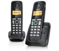 Gigaset A220 Duo DECT fekete