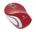 Logitech Mini M187 USB Red