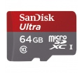 SANDISK microSDXC Ultra 64GB 80MB/s +Adapt.