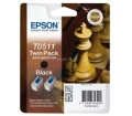 Epson tintapatron C13T05114210 Twinpack fekete