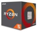 AMD Ryzen 5 1600X dobozos, hűtő nélkül