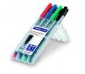 Staedtler marker készlet, OHP, 0,6 mm, 4 szín