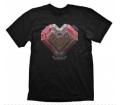 """Starcraft 2 T-Shirt """"Terran Heart"""", L"""