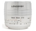 Lensbaby Velvet 56 f/1.6 (Nikon) ezüst