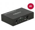 Delock HDMI UHD 3 x HDMI-bemenet>1 x HDMI-kimenet