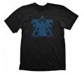 "Starcraft 2 T-Shirt ""Terran Logo Blue Vintage"", M"