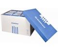 Donau Archiváló konténer, levehető tető, Kék-fehér