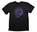 "Starcraft 2 ""Zerg Logo Purple Vintage"" póló XL"