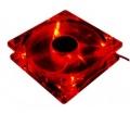 Zalman ZM-F2 92mm Piros LED