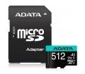 Adata 512GB microSD Premier Pro SDXC adapterrel
