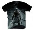 """Skyrim T-Shirt """"Dragonborn"""", M"""