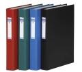 Donau Gyűrűs könyv, 4 gyűrű, 40 mm, A4 piros