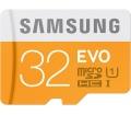 Samsung EVO microSD UHS-I CL10 32GB + USB adapter