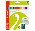 Stabilo Színes ceruza készlet,hatszögletű, 24 szín