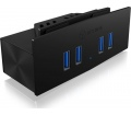 RaidSonic Icy Box USB 3.0 Clamp Hub