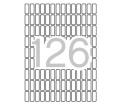 Apli Etikett, 8x20 mm, kerekített sarkú, A5