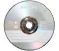 Philips CD-R80 52x írható CD papírtokos