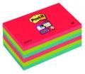 3M Postit Öntapadó jegyzettömb Super Sticky pipacs