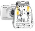 Nikon COOLPIX W100 hátizsák kit fehér