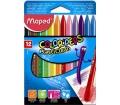 Maped Zsírkréta, ColorPeps, 12 különböző szín