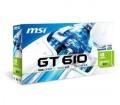 MSI N610-1GD3H/LP 1024MB DDR3 PCIE LP Passive