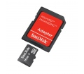 SanDisk MicroSD 16GB + SD adapter