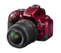 Nikon D5200 + 18-55 VR KIT Vörös