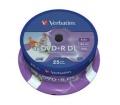 Verbatim DVD+R 8,5GB 8X DOUBLE LAYER PRINT. CAKE*2