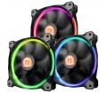 Thermaltake Riing 14, 140mm LED RGB 3 db