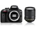 Nikon D3400 + 18-105 VR kit