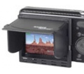 """Kaiser digiShield LCD árnyékoló 2.7"""" fekete"""