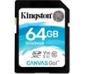 Kingston Canvas Go! SDHC 64GB