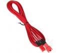 BitFenix 3 tűs hosszabbító 90cm piros/piros