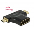 Delock Adapter High Speed HDMI with Ethernet – HDM