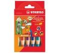 Stabilo Színes ceruza készlet, vastag, 6 szín