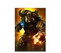 "Doom Wallscroll ""Cyber Demon"""