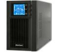 Qoltec UPS Online LCD 1kVA 800W