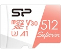 Silicon Power microSDXC Superior U3 A1 V30 512GB