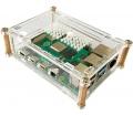 Joy-IT Raspberry Pi 4B ház, átlátszó