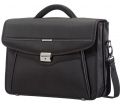 "Samsonite Desklite Briefcase 2 Gussets 15.6"" Black"