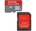 SanDisk Mobil Ultra UHS-I MicroSDHC 8GB + adapter