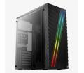 Aerocool Streak TG RGB ATX Fekete ház