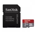 SANDISK microSDHC Ultra 16GB UHS-I A1 +Adapt.