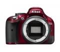 Nikon D5200 Váz Vörös