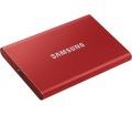 Samsung T7 SSD 1TB piros